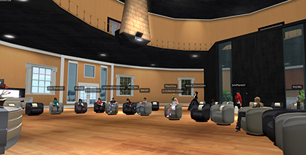 MALET Reception in Second Life
